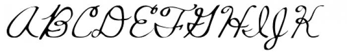 Mildred Mild Font UPPERCASE