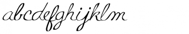 Mildred Mild Font LOWERCASE
