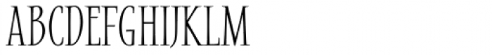 Mile High SemiBold Font UPPERCASE