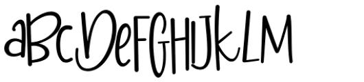 Mileadila Regular Font UPPERCASE