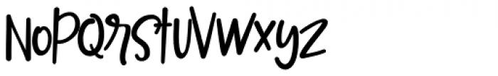Mileadila Regular Font LOWERCASE
