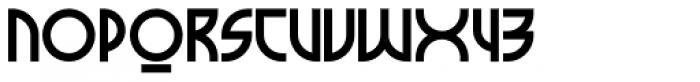 Milkyway Hotel Black Font UPPERCASE