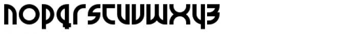 Milkyway Hotel Black Font LOWERCASE