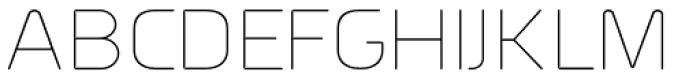Millar UltraLight Font UPPERCASE