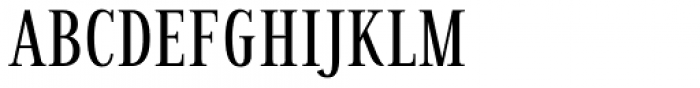 Millard Condensed Regular Font UPPERCASE