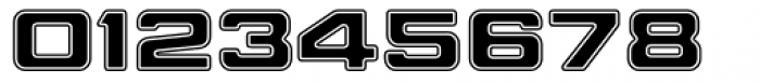 Millenium Bold Extended Font OTHER CHARS