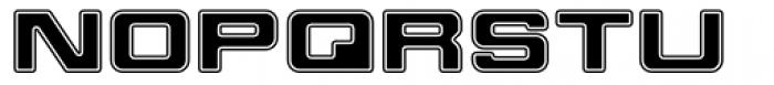 Millenium Bold Extended Font UPPERCASE