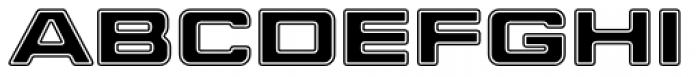 Millenium Bold Extended Font LOWERCASE