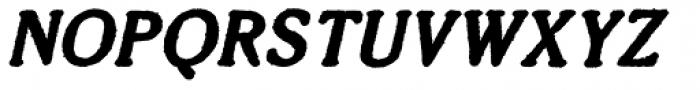 Millesime Bold Italic Font UPPERCASE