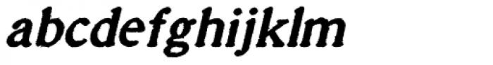Millesime Bold Italic Font LOWERCASE