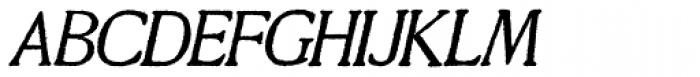 Millesime Italic Font UPPERCASE