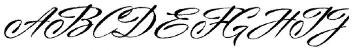 Millettre Font UPPERCASE