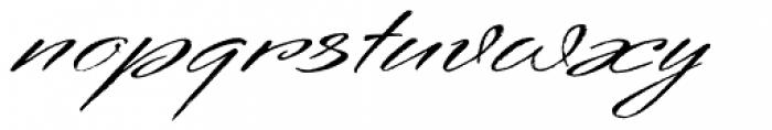Millettre Font LOWERCASE
