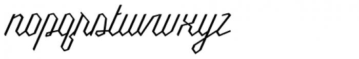 Millie Round Light Font LOWERCASE