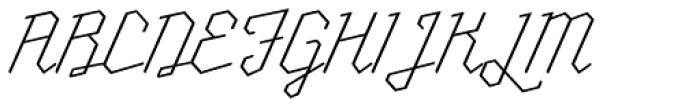 Millie Round Thin Font UPPERCASE