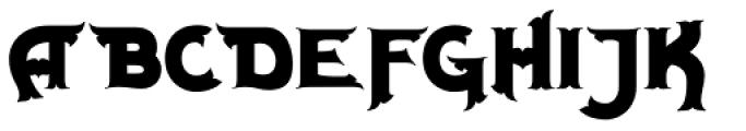 Milligan Font UPPERCASE