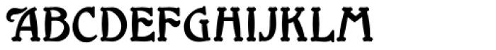 Millrich Grange NF Font LOWERCASE