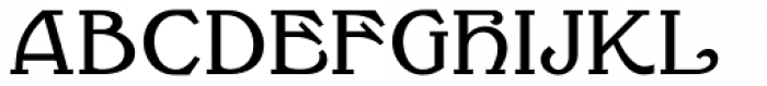 Millrich Reading NF Font UPPERCASE