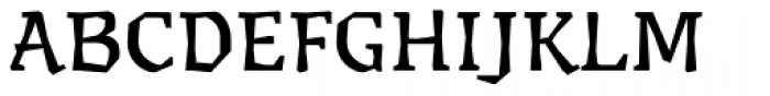 Millwright regular Font UPPERCASE
