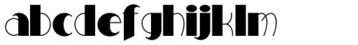 Milton Burlesque NF Font LOWERCASE