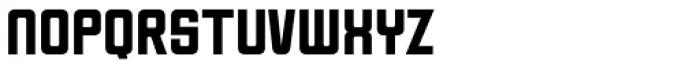 Milwaukee Font LOWERCASE