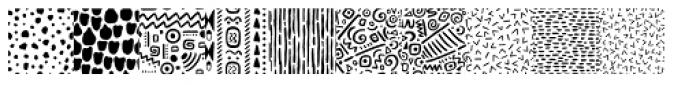 Mimbie Prints Font LOWERCASE