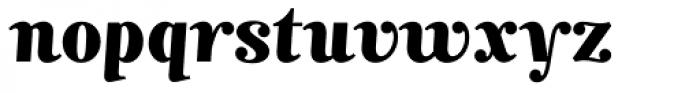 Mimix ExtraBold Font LOWERCASE