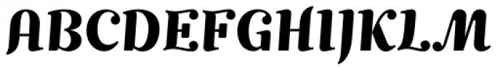 Mimix TRIAL Bold Font UPPERCASE