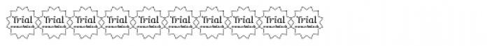 Mimix TRIAL Regular Font OTHER CHARS