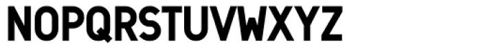 Min Four Font UPPERCASE