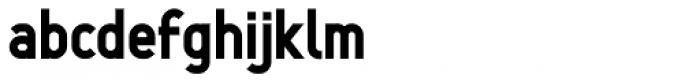 Min Four Font LOWERCASE