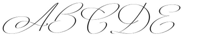 Mina Calligraphic Regular Font UPPERCASE