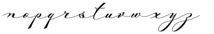 Mina Chic Extra Font LOWERCASE