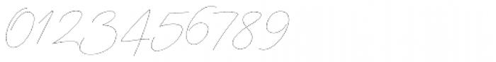 Mina Thin Font OTHER CHARS