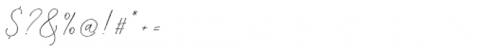 Mindline Script Bold Italic Font OTHER CHARS