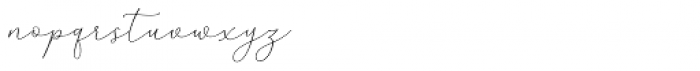 Mindline Script Bold Italic Font LOWERCASE