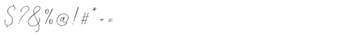 Mindline Script Bold Font OTHER CHARS