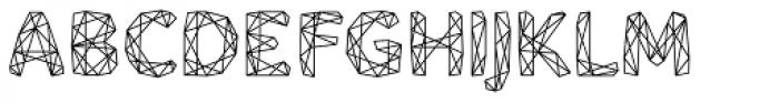 Mineraline Regular Font UPPERCASE