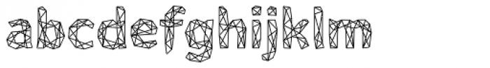 Mineraline Regular Font LOWERCASE