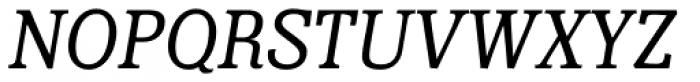 Minernil Italic Font UPPERCASE