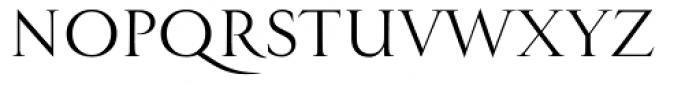 Minerva Antiqua Font UPPERCASE