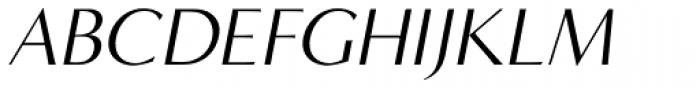 Minerva Modern Italic Font UPPERCASE