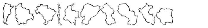 Mini Pics Global S Cutout Font OTHER CHARS