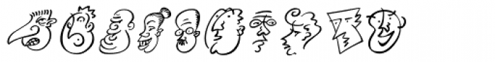 Mini Pics Head Buddies Font OTHER CHARS