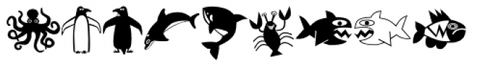 Mini Pics Lil Critters Font OTHER CHARS