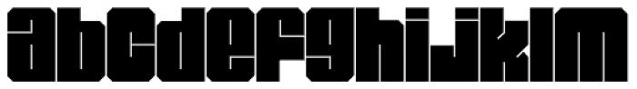 Miniblock Font LOWERCASE