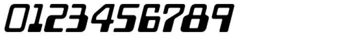 Minicomputer Bold Italic Font OTHER CHARS