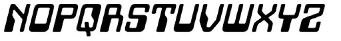 Minicomputer Bold Italic Font UPPERCASE