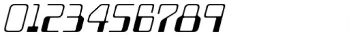 Minicomputer Extra Light Italic Font OTHER CHARS