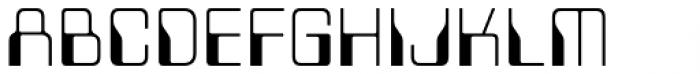 Minicomputer Extra Light Font UPPERCASE